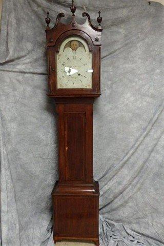 Federal Period Tall Case Clock