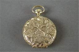Gold Case Pocket Watch