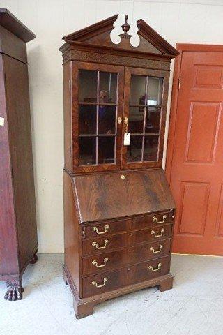 Two-Piece Bookcase Desk