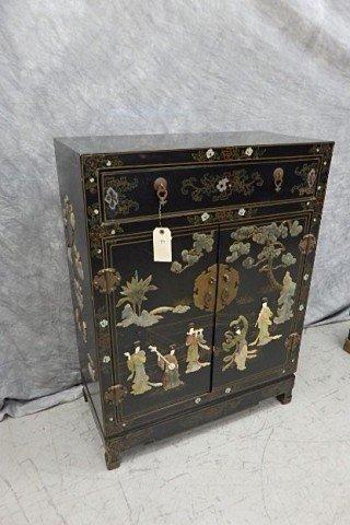 Oriental Two Door Cabinet
