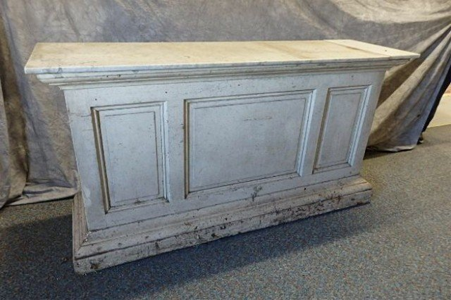 Early Pine Store Counter