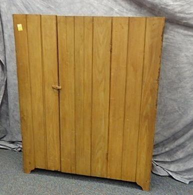 One Door 20th C. Cupboard