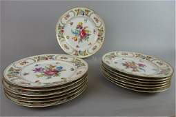 13 Dresden Service Plates