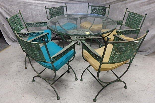 Shaver Hower cast iron patio set