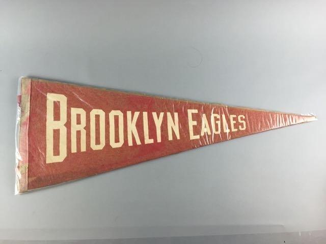 Brooklyn Eagles Negro Baseball Pennant