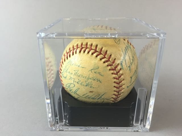 1954 Brooklyn Dodgers Signed Baseball