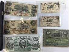 Currency  4 Broken Bank Notes  2 Other