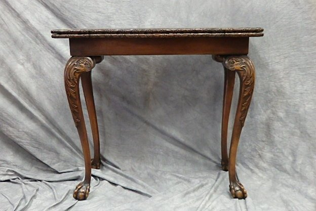 Chippendale Style Fold Over Table