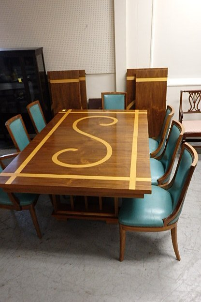 9 Piece Dining Table & Chairs