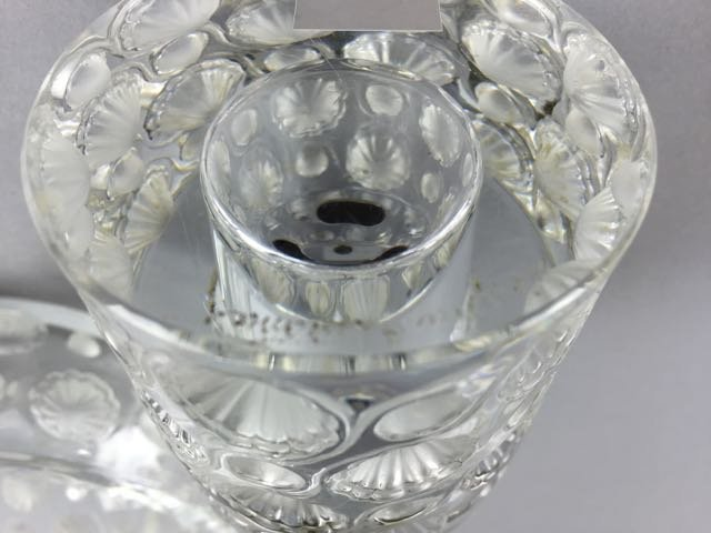Lalique Lighter and ashtray - 2