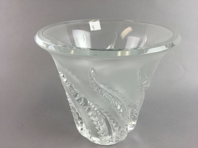 Lalique Vase