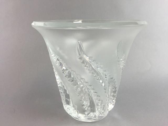 Lalique Vase - 2