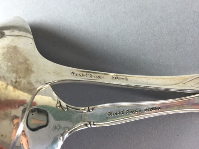 Lot 4  Sterling serving items - 3