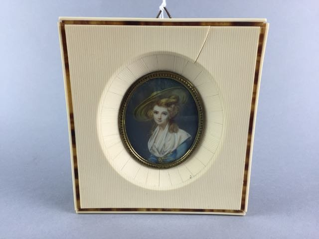Miniature portrait on ivory - 2