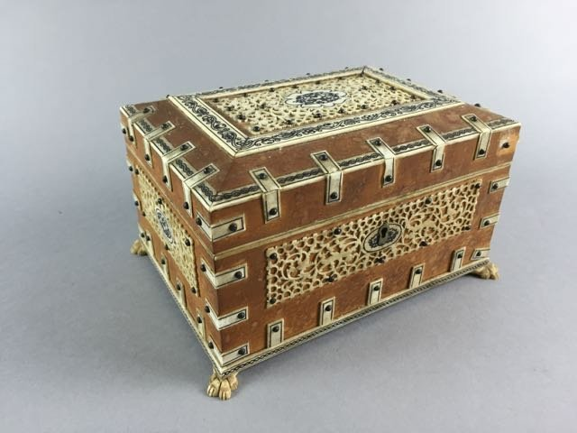 Ivory Mounted Box