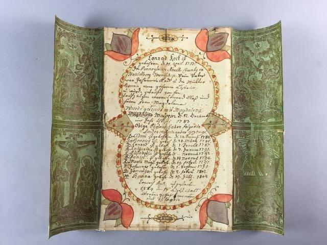 1753 Fraktur