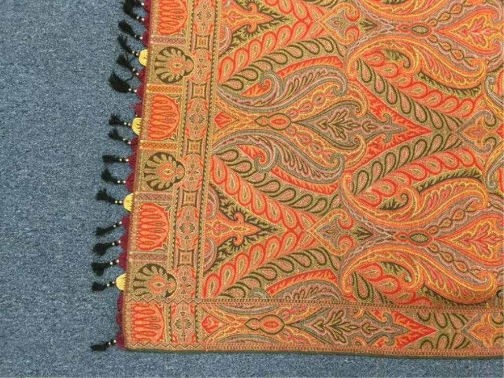 Paisley table cover - 2