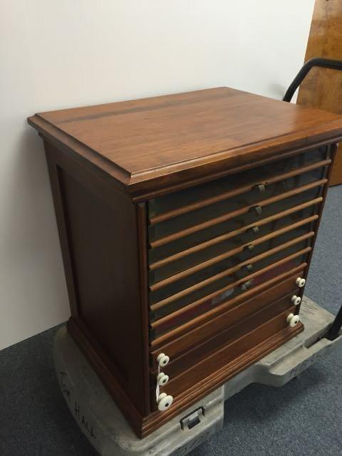 Antique spool cabinet - 2