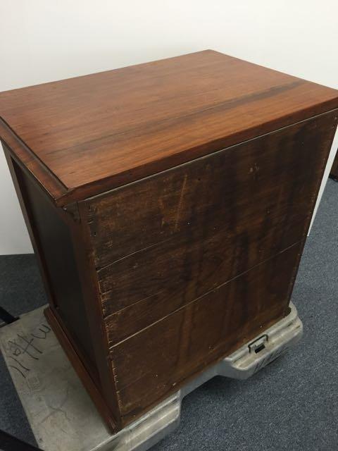 Antique spool cabinet - 3