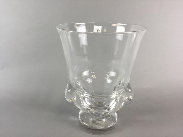 Steuben Crystal vase