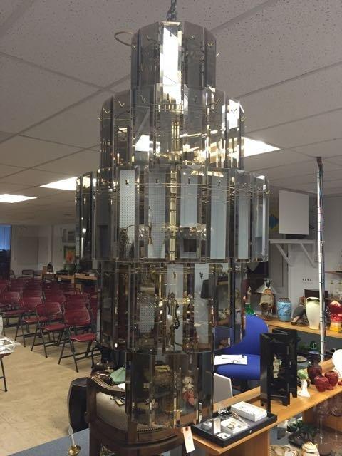 Mid century chandelier - 2
