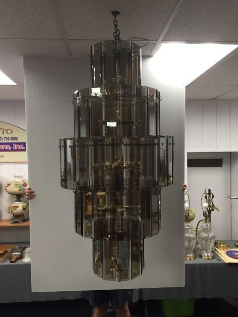 Mid century chandelier - 3