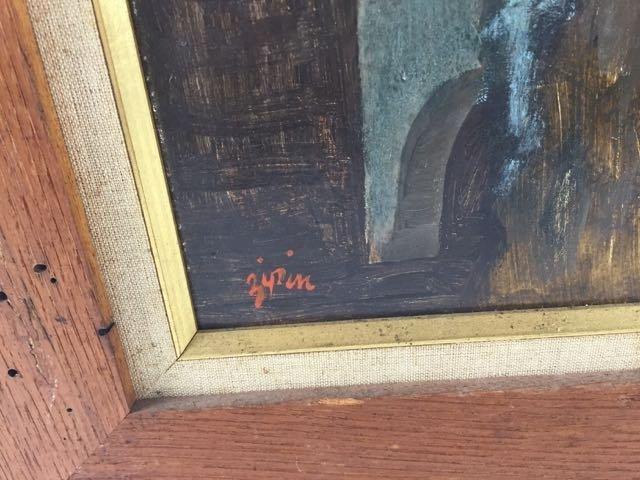 Oil on panel - 3