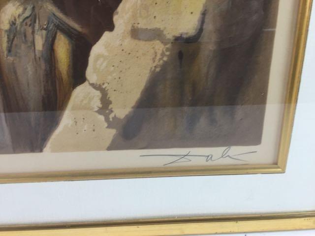 E.A. Salvador Dali  Artist Proof - 3