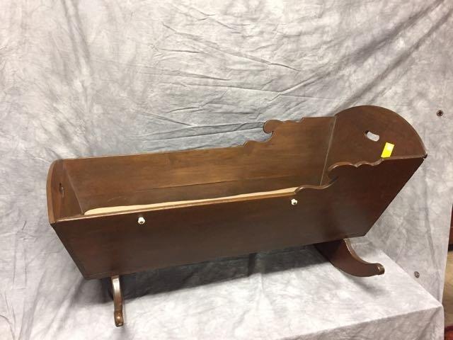 Childs Antique Cradle - 2