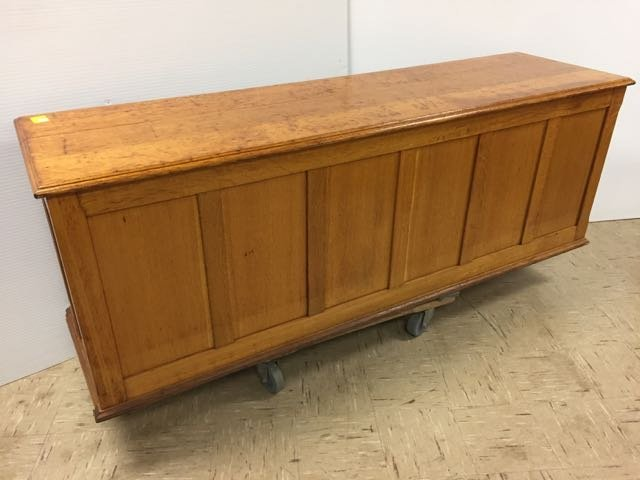 Antique Oak 30 Drawer Library File Cabinet - 7