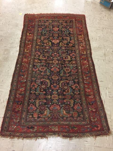 Antique Persian Bijar Rug
