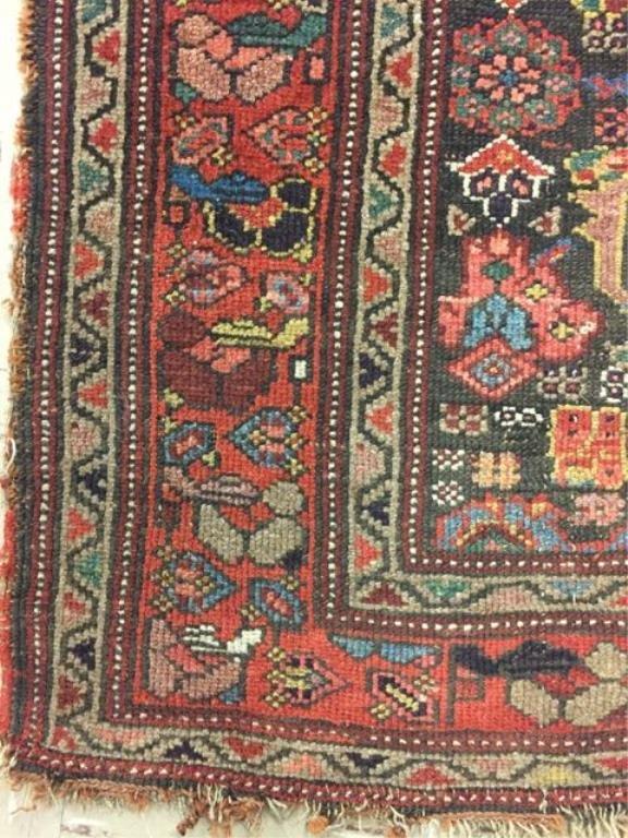 Antique Persian Bijar Rug - 2