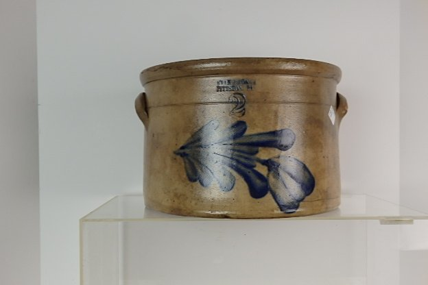 19th Century Stoneware Crock - 2