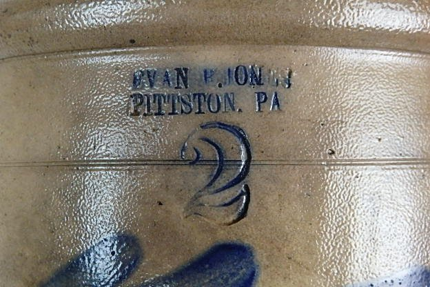 19th Century Stoneware Crock - 4
