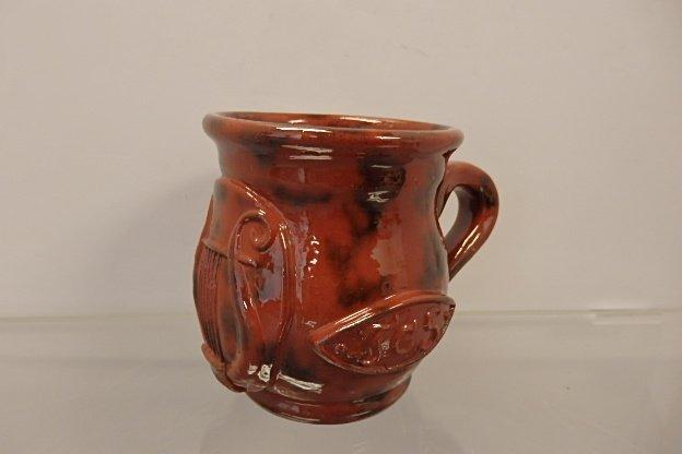 JCS Redware Mug