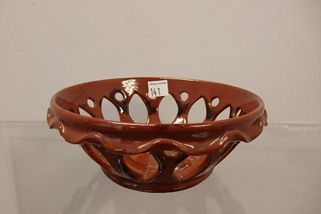 Breininger Pottery Basket - 2