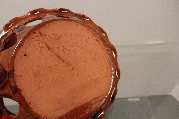 Breininger Pottery Basket - 4