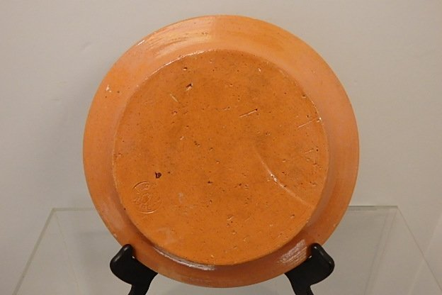 Jug town Ware plate - 2