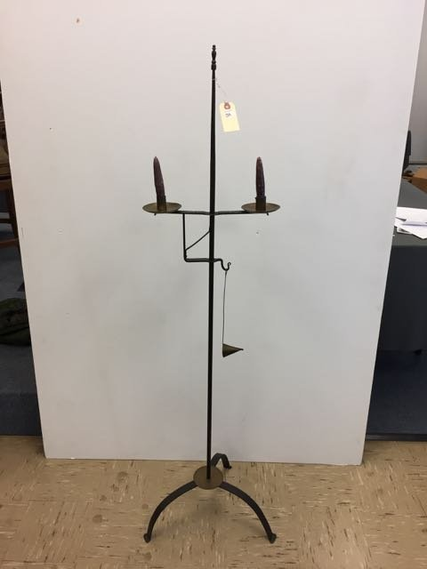 Thomas Loose Wrought iron Candle Lamp