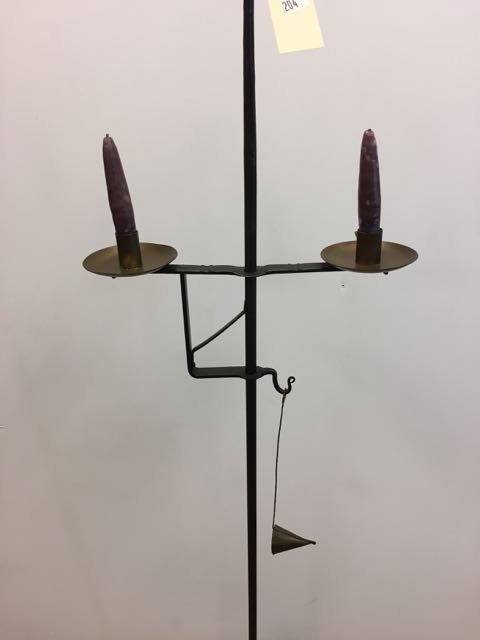 Thomas Loose Wrought iron Candle Lamp - 2