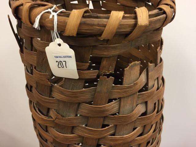 3 Vintage Fishing Traps/Baskets - 4