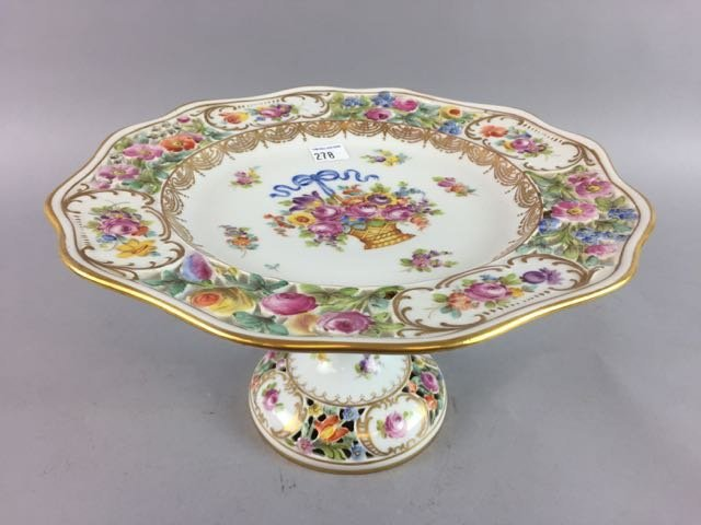 Dresden Cake Stand