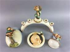 4 Hummel Figurines