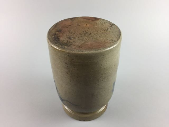 Decorated Stoneware Storage Jar - 3