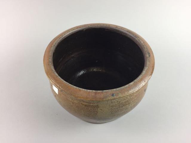 Decorated Stoneware Crock - 2