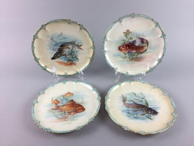 Set of 4 Fish Plates