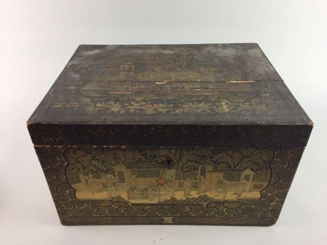 2 Asian Tea Boxes - 2
