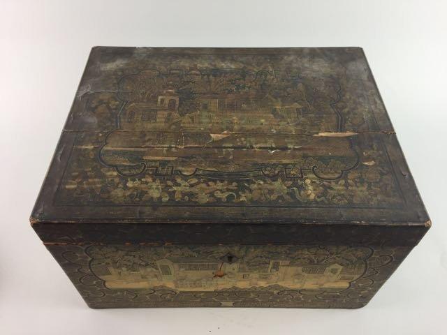 2 Asian Tea Boxes - 3