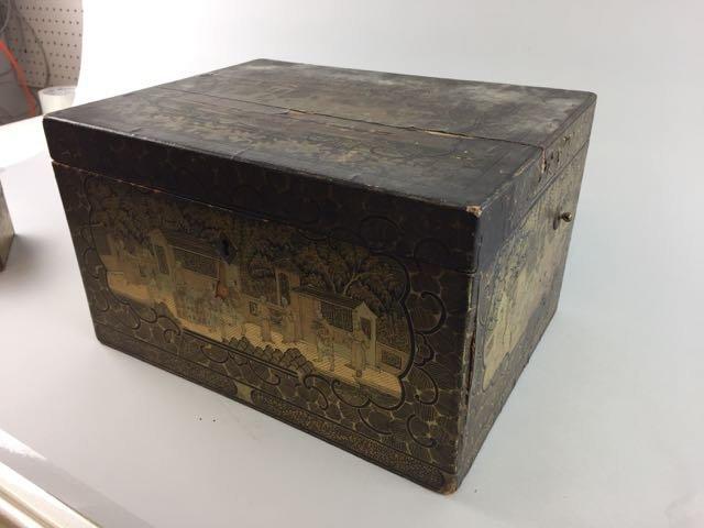 2 Asian Tea Boxes - 4