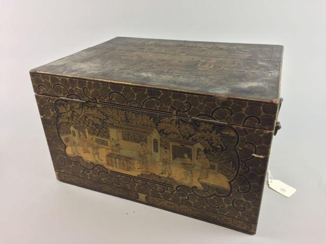 2 Asian Tea Boxes - 8